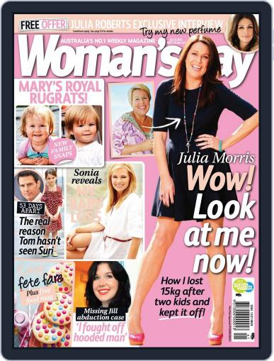 Woman's Day Australia (Digital) September 30th, 2012 Issue Cover