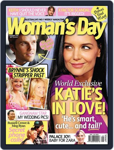 Woman's Day Australia (Digital) October 28th, 2012 Issue Cover