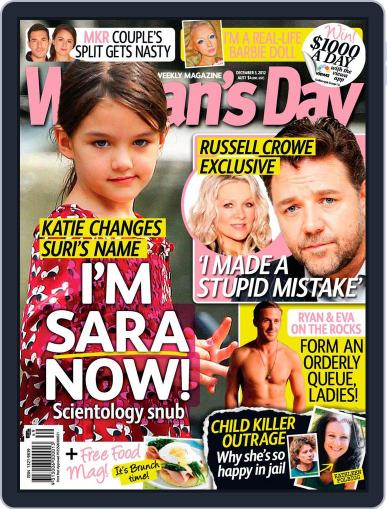 Woman's Day Australia (Digital) November 25th, 2012 Issue Cover
