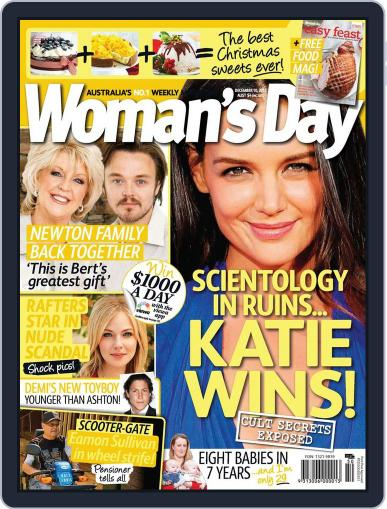 Woman's Day Australia (Digital) December 2nd, 2012 Issue Cover
