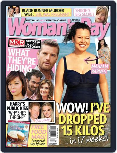 Woman's Day Australia (Digital) February 24th, 2013 Issue Cover