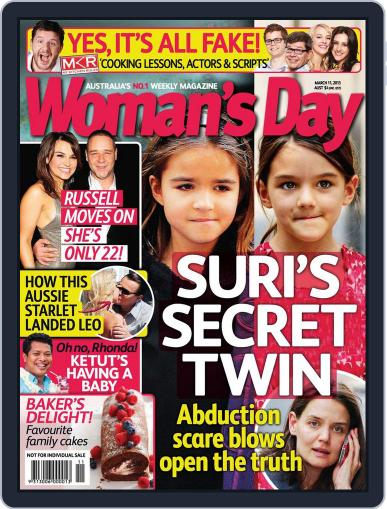 Woman's Day Australia (Digital) March 3rd, 2013 Issue Cover