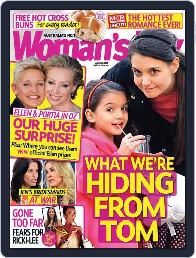Woman's Day Australia (Digital) March 17th, 2013 Issue Cover