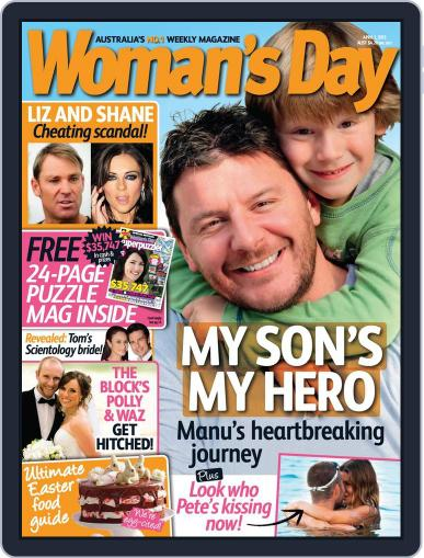 Woman's Day Australia (Digital) March 24th, 2013 Issue Cover