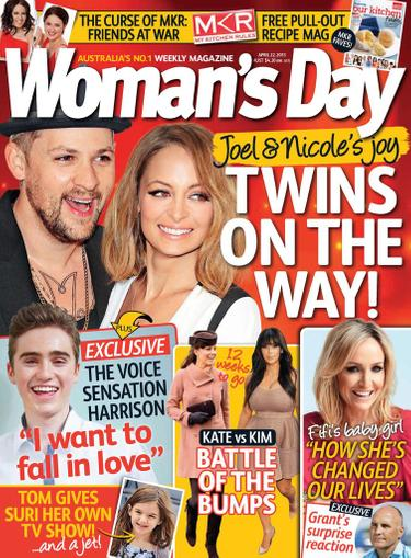 Woman's Day Australia April 15th, 2013 Digital Back Issue Cover