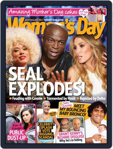 Woman's Day Australia (Digital) May 5th, 2013 Issue Cover