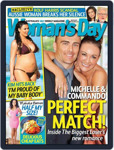 Woman's Day Australia (Digital) May 12th, 2013 Issue Cover