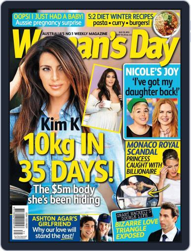 Woman's Day Australia (Digital) July 22nd, 2013 Issue Cover