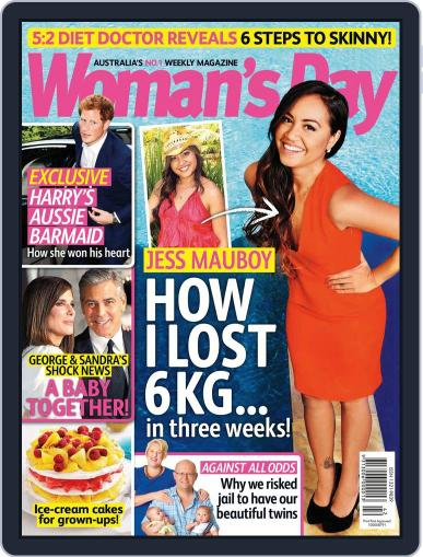 Woman's Day Australia (Digital) October 6th, 2013 Issue Cover