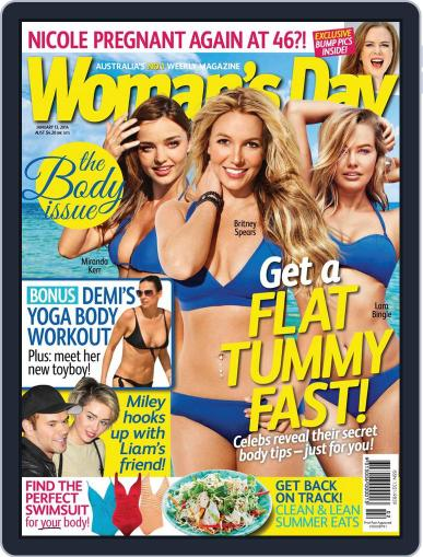 Woman's Day Australia (Digital) January 11th, 2014 Issue Cover