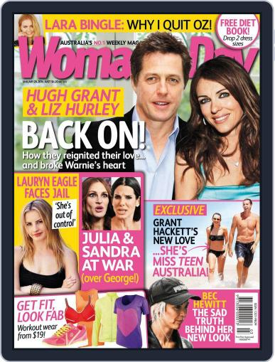 Woman's Day Australia (Digital) January 12th, 2014 Issue Cover