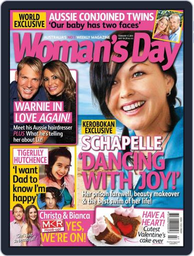Woman's Day Australia (Digital) February 8th, 2014 Issue Cover