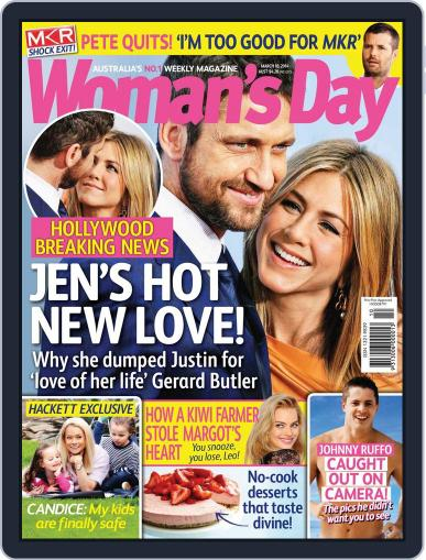 Woman's Day Australia (Digital) March 1st, 2014 Issue Cover