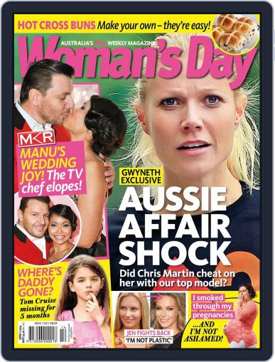 Woman's Day Australia March 29th, 2014 Digital Back Issue Cover