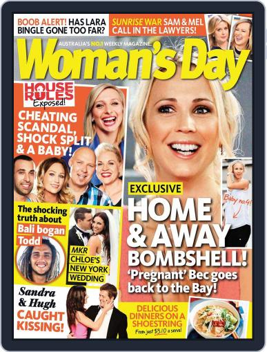 Woman's Day Australia (Digital) June 14th, 2014 Issue Cover