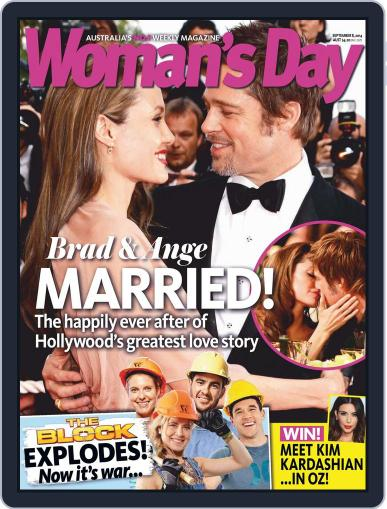 Woman's Day Australia (Digital) September 1st, 2014 Issue Cover
