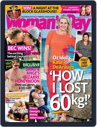 Woman's Day Australia (Digital) September 6th, 2014 Issue Cover