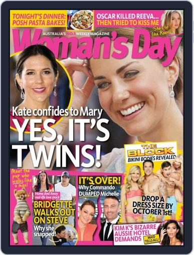 Woman's Day Australia September 14th, 2014 Digital Back Issue Cover