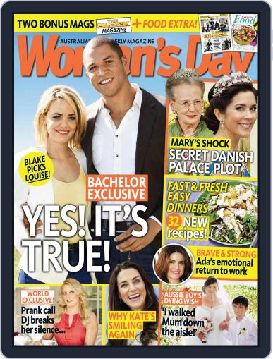 Woman's Day Australia October 13th, 2014 Digital Back Issue Cover