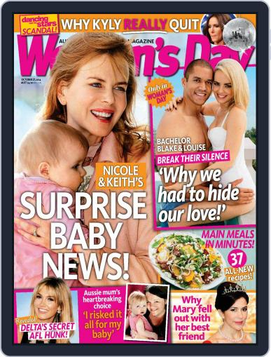 Woman's Day Australia (Digital) October 19th, 2014 Issue Cover
