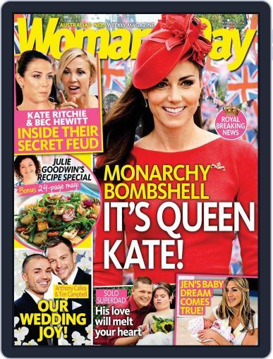 Woman's Day Australia (Digital) November 16th, 2014 Issue Cover