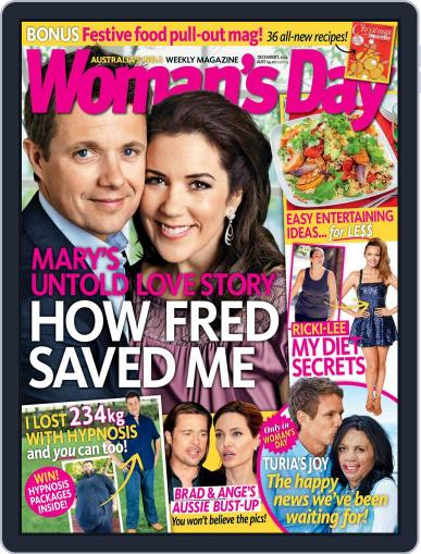 Woman's Day Australia November 23rd, 2014 Digital Back Issue Cover