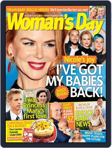 Woman's Day Australia (Digital) November 30th, 2014 Issue Cover