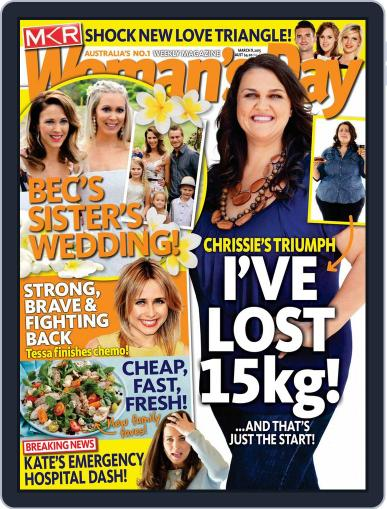 Woman's Day Australia (Digital) March 2nd, 2015 Issue Cover