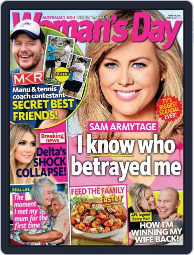 Woman's Day Australia (Digital) March 16th, 2015 Issue Cover