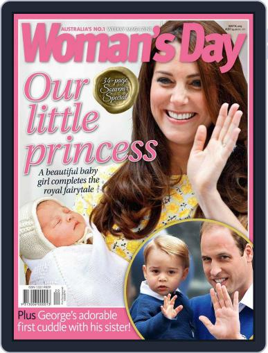 Woman's Day Australia May 7th, 2015 Digital Back Issue Cover