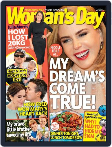 Woman's Day Australia (Digital) May 30th, 2015 Issue Cover