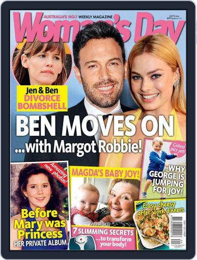Woman's Day Australia July 13th, 2015 Digital Back Issue Cover