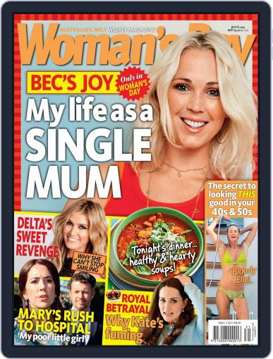 Woman's Day Australia (Digital) July 27th, 2015 Issue Cover