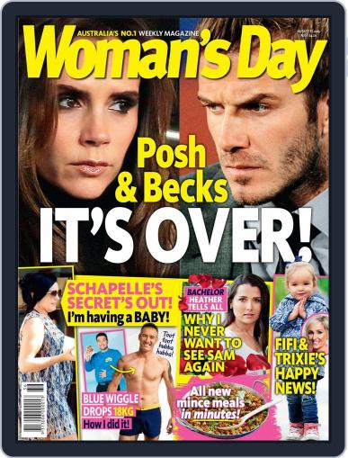 Woman's Day Australia (Digital) August 31st, 2015 Issue Cover