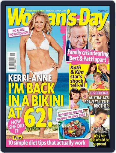 Woman's Day Australia September 21st, 2015 Digital Back Issue Cover