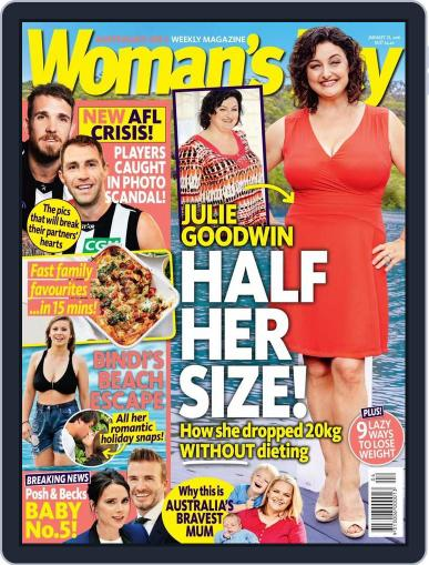 Woman's Day Australia (Digital) January 16th, 2016 Issue Cover