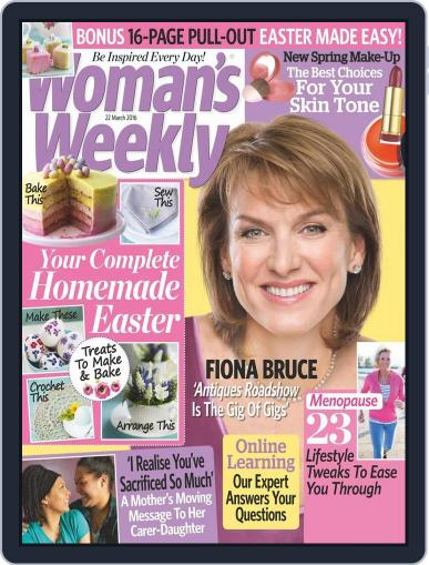 Woman's Day Australia (Digital) March 6th, 2016 Issue Cover