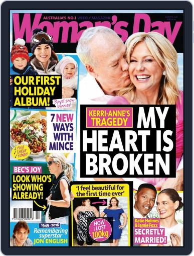 Woman's Day Australia (Digital) March 12th, 2016 Issue Cover