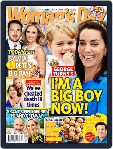 Woman's Day Australia (Digital) July 17th, 2016 Issue Cover