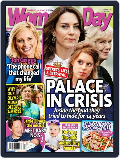 Woman's Day Australia (Digital) August 14th, 2016 Issue Cover