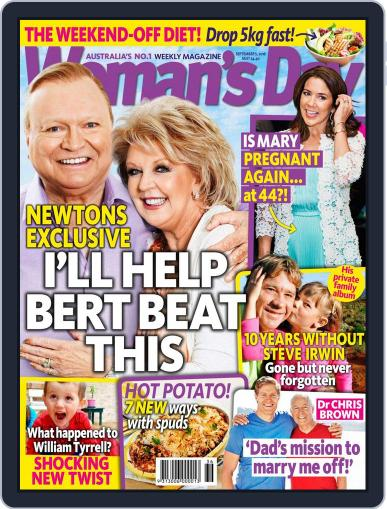 Woman's Day Australia (Digital) September 5th, 2016 Issue Cover