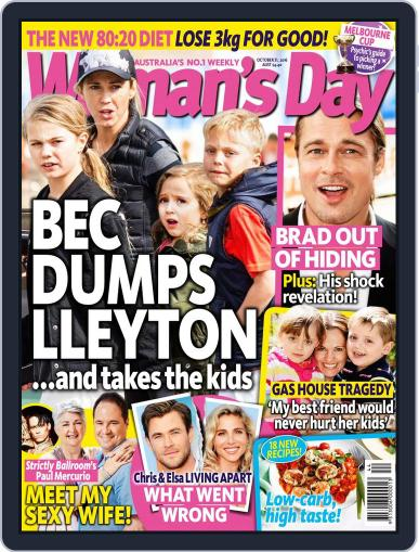 Woman's Day Australia (Digital) October 31st, 2016 Issue Cover