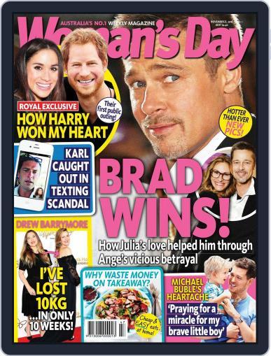 Woman's Day Australia (Digital) November 21st, 2016 Issue Cover