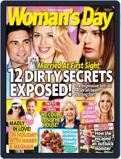 Woman's Day Australia (Digital) March 20th, 2017 Issue Cover