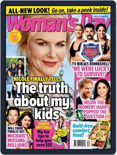 Woman's Day Australia (Digital) July 24th, 2017 Issue Cover
