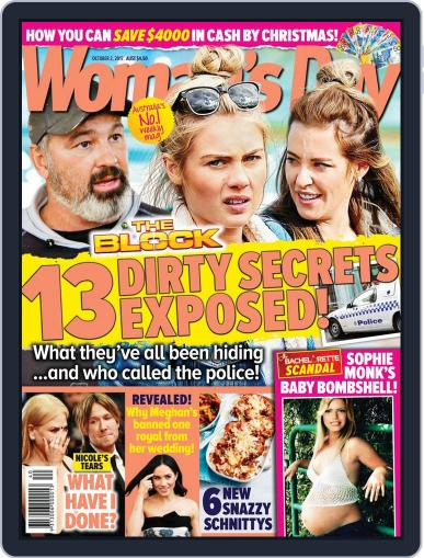 Woman's Day Australia (Digital) October 2nd, 2017 Issue Cover