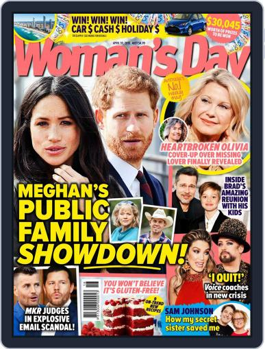 Woman's Day Australia (Digital) April 30th, 2018 Issue Cover