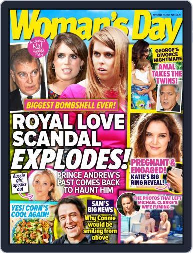 Woman's Day Australia (Digital) November 19th, 2018 Issue Cover
