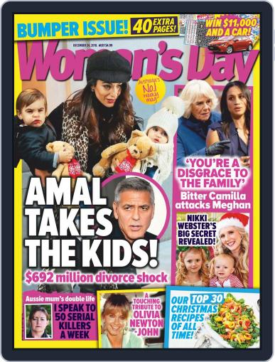 Woman's Day Australia December 24th, 2018 Digital Back Issue Cover