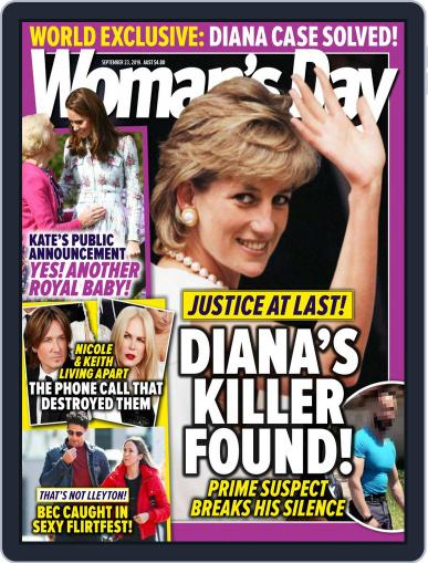 Woman's Day Australia (Digital) September 23rd, 2019 Issue Cover